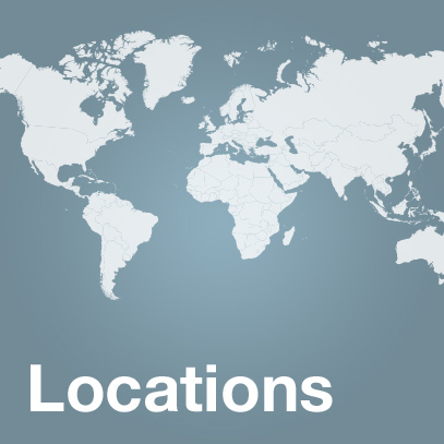 Locations world wide of the uvex group