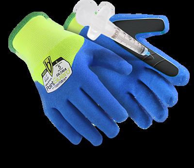 Gants de protection contre les piqures d'aiguille HexArmor