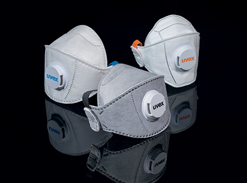 Masques de protection respiratoire 3 plis uvex