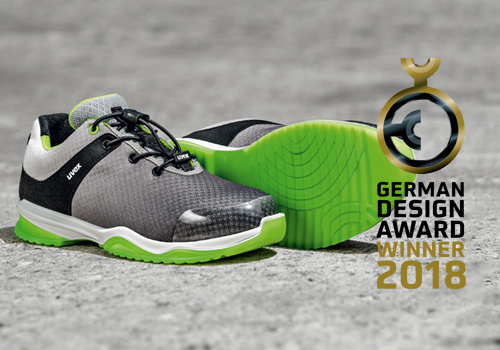 Safety shoe is a German Design Award Winner 2018