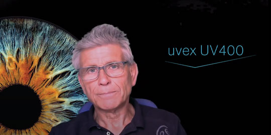 """Watch our video """"Ask the expert: How can UV rays damage your eyes?"""""""