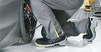 uvex 1 safety footwear range