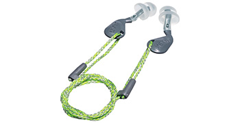 uvex xact-fit reusable earplugs