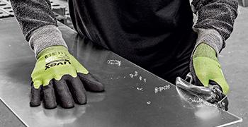 uvex D500 foam cut protection glove