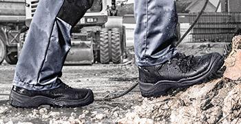 Waterproof and durable footwear from uvex