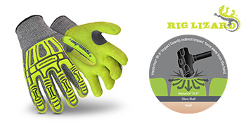impact resistance gloves for working on the roads
