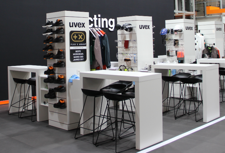 Come and visit the uvex stand 12-K62