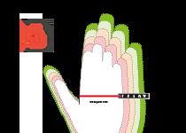 uvex hand sizing chart