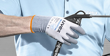 uvex phynomic foam safety gloves