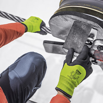 Explore uvex cold protection gloves