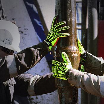 Impact protection gloves from HexArmor