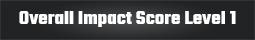 Overall Impact Score Level 1