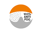 Anti-fog lens coatings