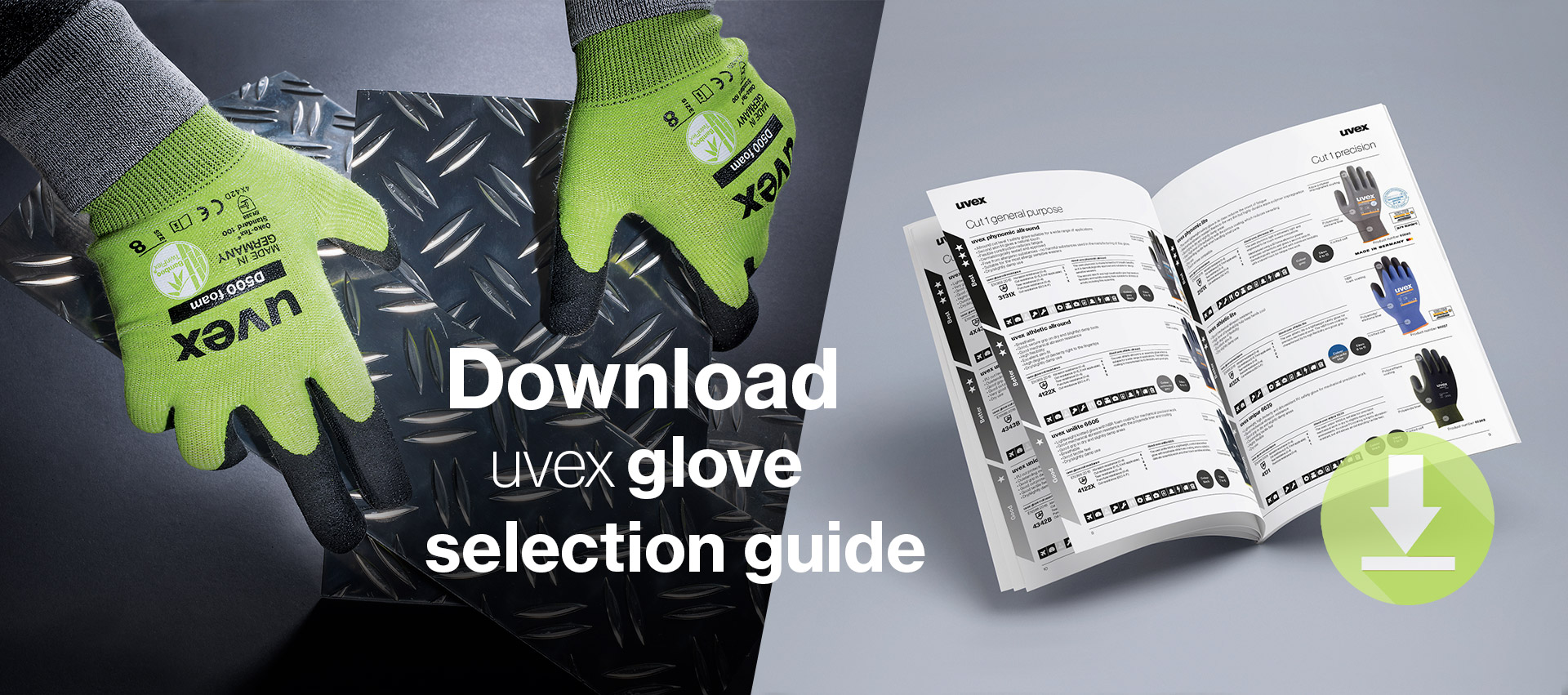 Download our simplified glove selection guide
