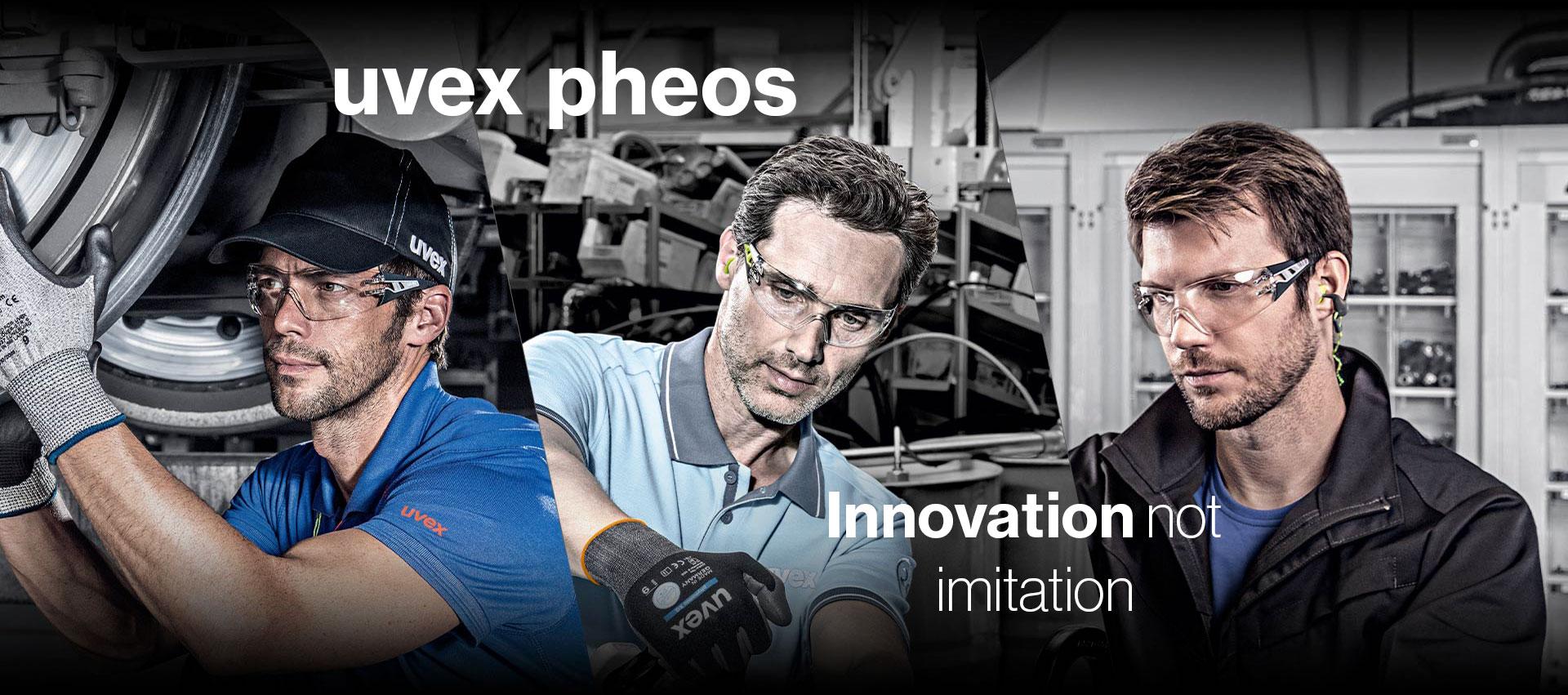 uvex pheos – Innovation not imitation