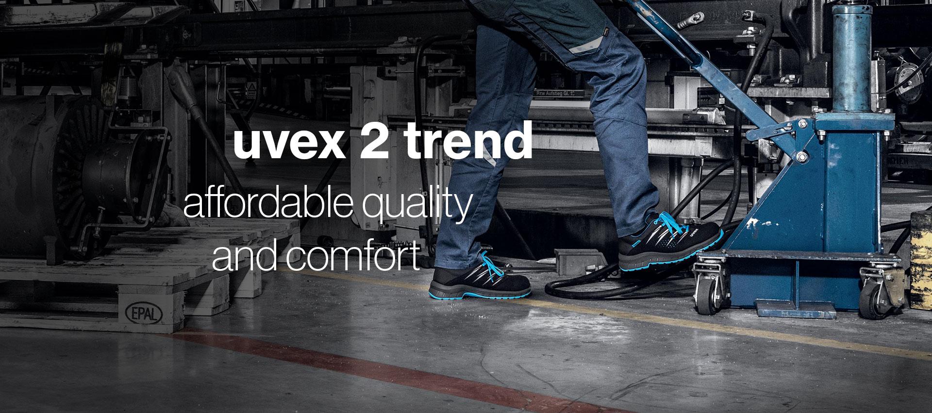 uvex 2 trend safety footwear