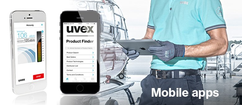uvex mobile apps