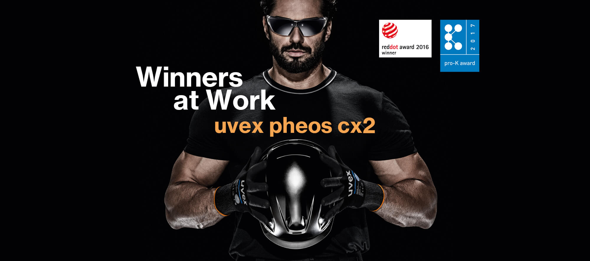 Winners at work - uvex pheos cx2