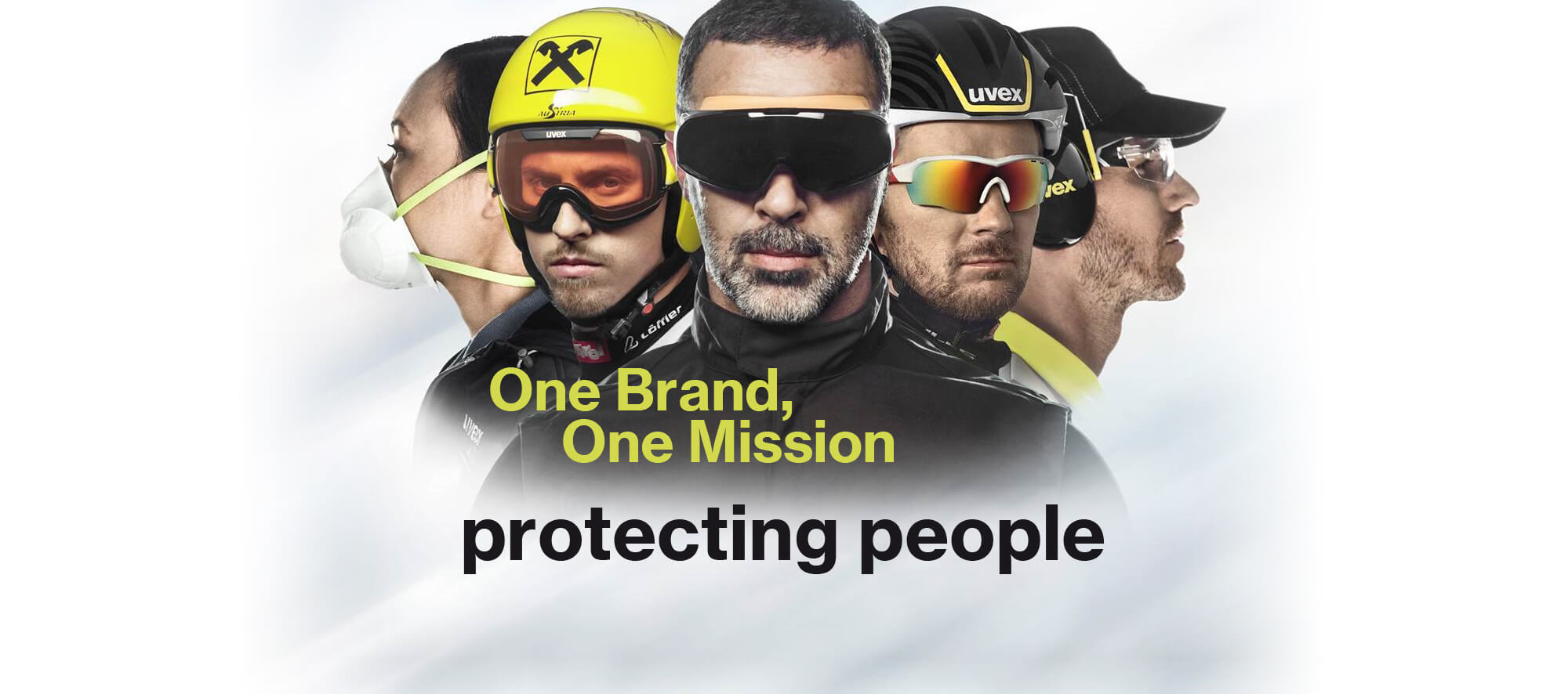 The uvex mission is to protect people