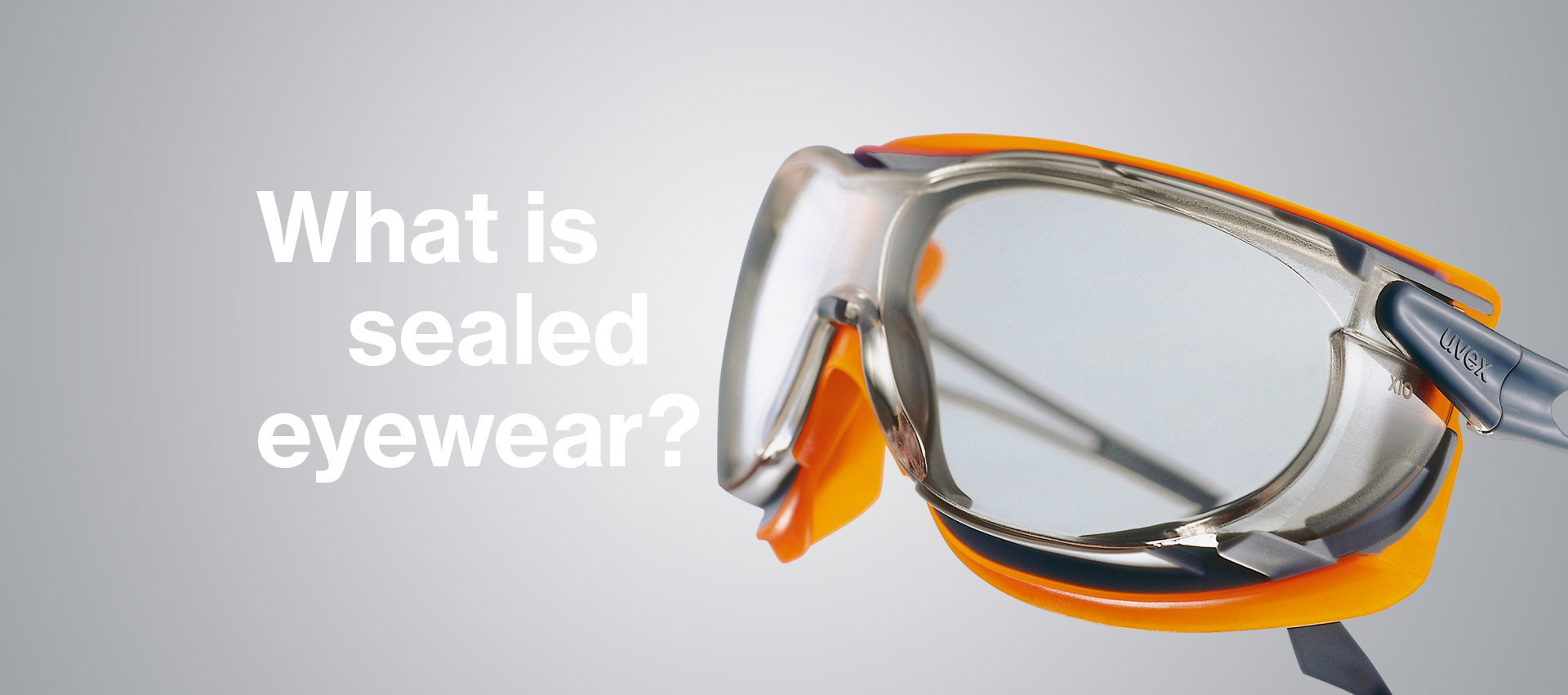 Sealed safety eyewear solutions from uvex