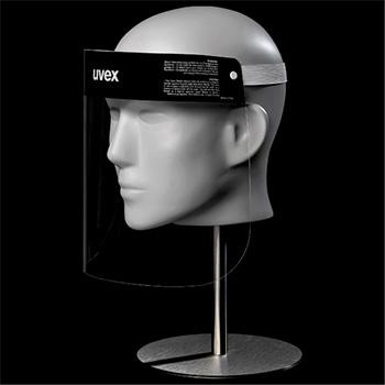 uvex disposable faceshield
