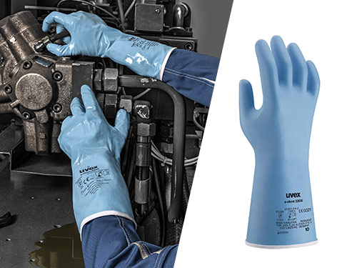 uvex u-chem 3300 chemical protection glove
