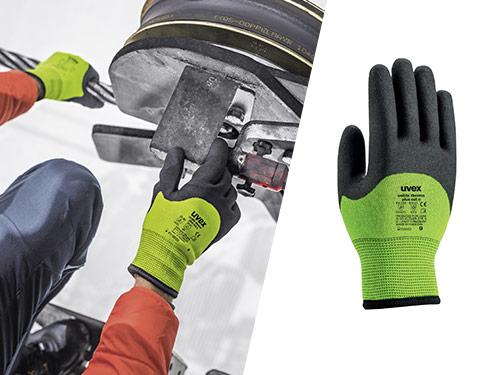 uvex unilite thermo plus cut c safety glove