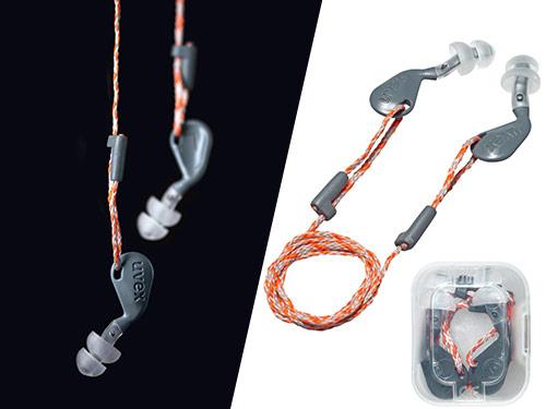 uvex xact-fit multi re-usable earplugs