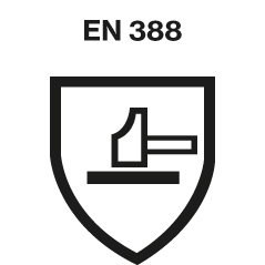 DIN EN 388 safety standard logo