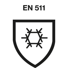DIN EN 511 safety standards logo