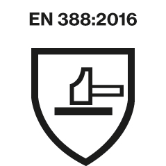 EN 388:2016 safety standard logo