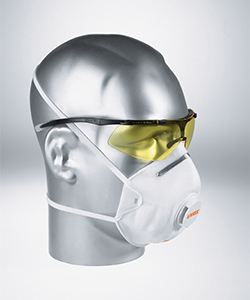 All uvex masks fulfil the dolomite dust test