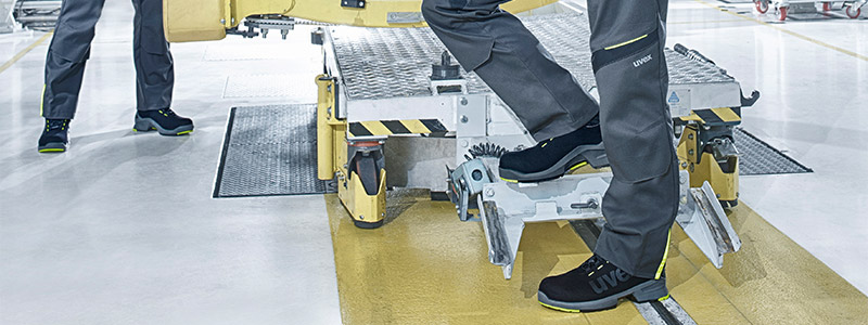 Anti-fatigue safety footwear | uvex safety