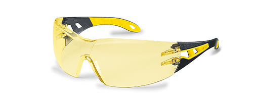 uvex safety glasses with amber lenses