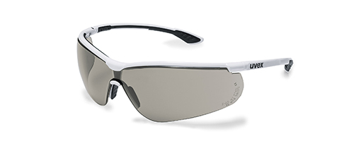 uvex safety glasses with grey lenses