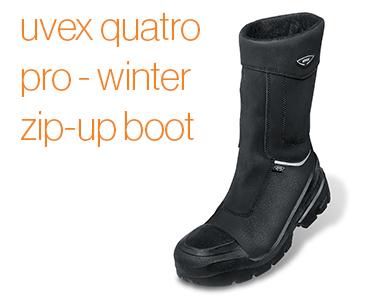 uvex quatro pro zip-up boot