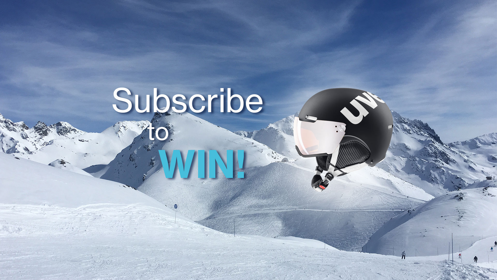Subscribe to our newsletter to win