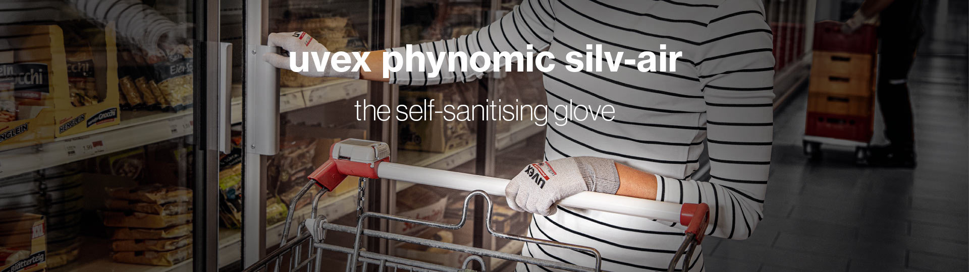 uvex phynomic silv-air - The self-sanitising safety glove
