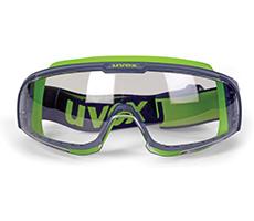 uvex u-sonic wide-vision goggle