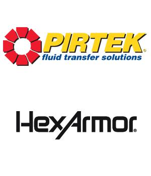 HexArmor and Pirtek logos