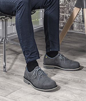 Suited and booted in uvex 1 business safety footwear