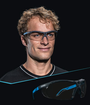 Discover the new uvex i-5 safety spectacles