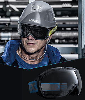 Discover the new uvex megasonic goggles