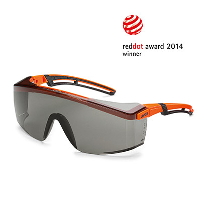 Red Dot Product Design Award 2014 for uvex astrospec 2.0