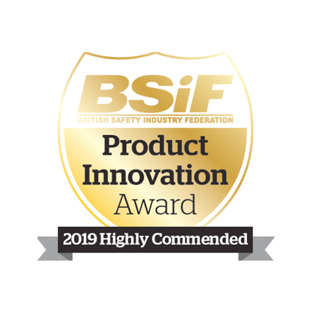 uvex CBR65 Highly Commended in BSIF Product Innovation Award