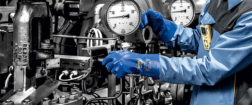 Hand protection: uvex Chemical Expert System