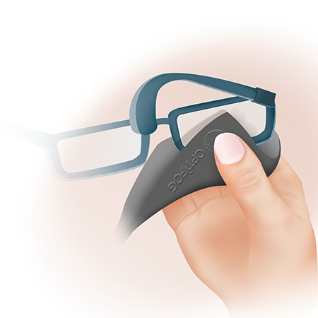 Activate your Optifog lens daily with the smart textile