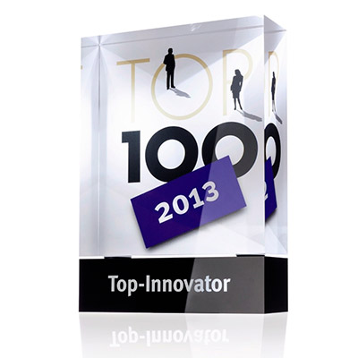 Top 100 Innovator of the Year 2013 size class B