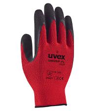 uvex unigrip PL 6628 latex RD safety glove
