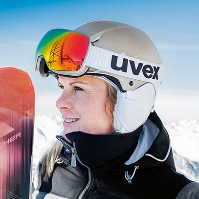 uvex Ski helmets